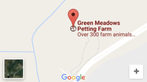 link to google map location green meadows farm kissimmee fl